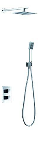 Conjunto ducha termostatica empotrada Imex Cies GPC009