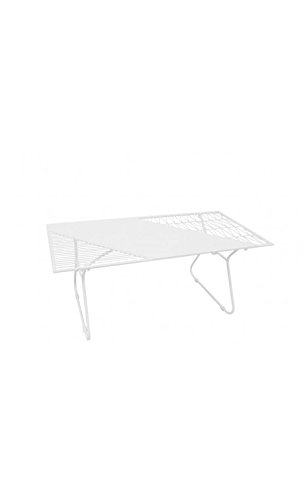 Socadis - Table Basse en métal Blanc Art DE Fer