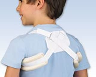 FLA Orthopedics Adjustable Clavicle Support White - Pediatric 2-7 yrs. Fits chests: 20 - 24