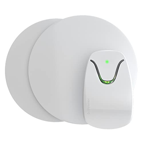 Safe Sleep Under-Mattress Baby Monitor - Real Time Movement Tracking & Monitoring, Includes Non-Contact Monitor with 2 Sensor Pads for Full Crib Coverage, No Wearables, Non-WiFi, Model: Babysense 7