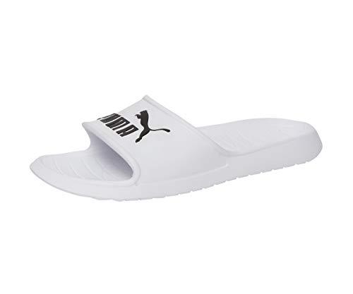 Puma Divecat v2, Zapatos de Playa y Piscina Unisex Adulto, White Black, 42 EU