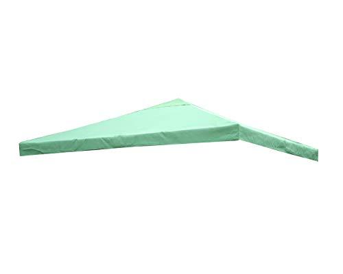 Angel Living Pavillondach Ersatzdach für Garten Metall Pavillon 3x3m Antik Pavillondach Ersatzbezug (Grün)