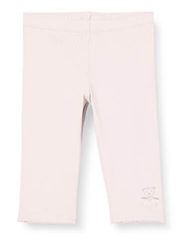 Steiff Baby-Mädchen Leggings, Rosa (Barely Pink 2560), 80 (Herstellergröße: 080)