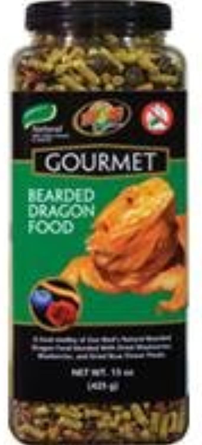 Zoo Med Med Med Gourmet Bearded Dragon Food Natural with
