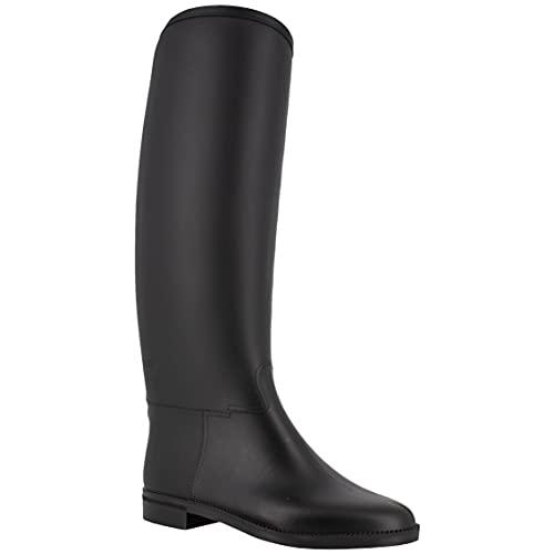 Spirale Ascot Plus Black, Stivali in Gomma Donna, 38 EU