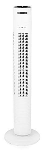 Emerio Ventilateur tour 3 vitesses 80 cm blanc