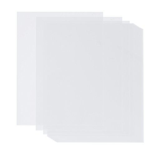 100 Sheets Pack Vellum Paper Value Pack - White Translucent Sketching and Tracing Paper - 8.5 x 11 Inches - Traditional Comic Drawing Animation Paper - 100 Pieces