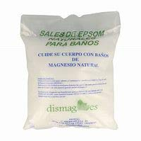 Sel d'Epsom 4 Kg, BIO-Source concentrée de Magnésium, Sel 100% Naturel. Bain et Soins Personnels.Promotion, Livraison 24h