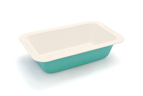 GreenLife Non-Stick Loaf Pan, Turquoise by The Cookware Company.