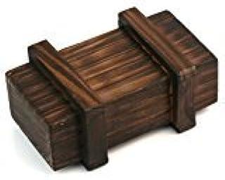 Zehui–Magic Puzzle caja de madera regalo secreto de mini compartimento Inteligencia cerebro Teaser