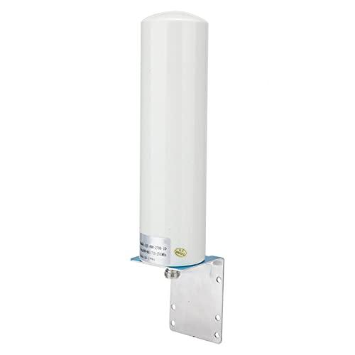 Kuuleyn Antenna Router, Antenna SMA Maschio, Antenna Esterna, 12dBi SMA Maschio 698-2700MHz 4G/3G Antenna Barrel Antenna Esterna con Clip di Fissaggio Adatta per Ripetitori Router LTE