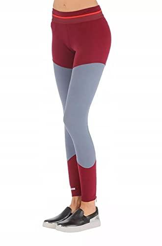 adidas Stella McCartney Essentials - Pantaloni da studio, grigio/rosso, M