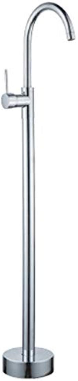 Stand In Bathtub Faucet for Antique Brass Freestanding Floor Tap Shower Set for Bathroom Shower System,chromeFarbe