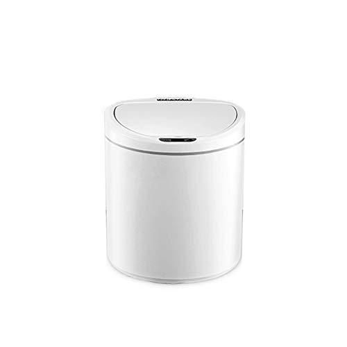 X&hui Automatische afvalemmer, intelligente deodoriser, contactloze keuken, badkamer, waterdicht, afval, luchtdicht, rechthoekige mini-afvalemmer met accu, 8 l, 10 l