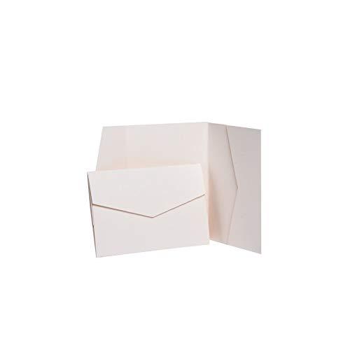 Pocketfold Invites Ltd Einladungskarten, matt, 102 x 152 mm
