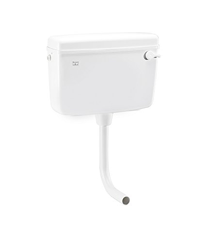 Parryware Slimline Polypropylene Economy Single Flush Cistern (White, Standard)