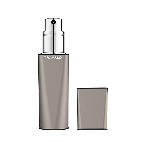 Travalo Atomiseur de Parfum Obscura Gris pour Vaporisateur Rechargeable Unisexe de 0,17 oz Vide