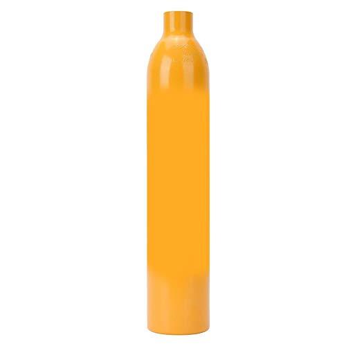 Mini Taucherflasche 0,5L Sauerstofftauchflasche Tauchen Tauchflaschen Tauchausrüstung Atemschutzgerät Tauchzubehör Pressluftflasche Unterwasser-Atemgerät Zum Unterwassertauchen Atemtraining(Orange)