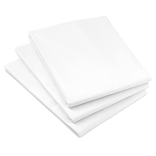 Hallmark White Tissue Paper (100 Sheets) for Birthdays, Easter, Mothers Day, Graduations, Gift Wrap, Crafts, DIY Paper Flowers, Tassel Garland and More