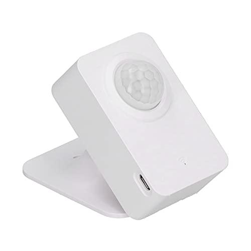Sensor de movimiento PIR inalámbrico WiFi APLICACIÓN inteligente Seguridad Alarma anormal Sensor de monitoreo remoto Montaje en el techo Sensor de movimiento Interruptor para negocios Tienda Hogar Niñ