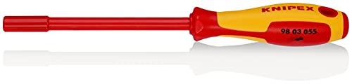 KNIPEX 98 03 055 Steckschlüssel mit Schraubendreher-Griff 232 mm