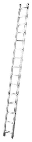 Hailo 7115-001 Escalera extensible, Aluminio