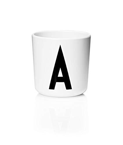 Design Letters - Melamin Becher - Buchstabe: A - Multifunktionsbecher - Arne Jacobsen