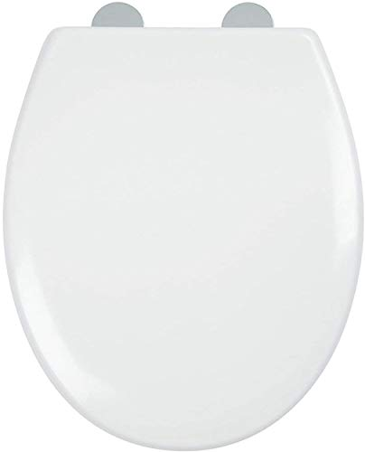 Soft Close Toilet Seat, Ergonomic Design with Quick Release Stainless Steel Hinges - Dual Fixing System - MASS DYNAMIC