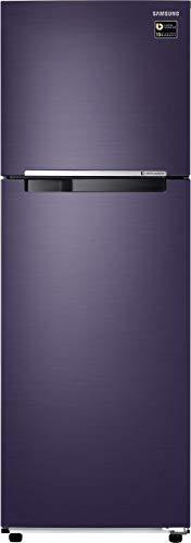 Samsung 275 L 3 Star ( 2019 ) Frost Free Double Door Refrigerator(RT30M3043UT, Pebble blue, Inverter Compressor)