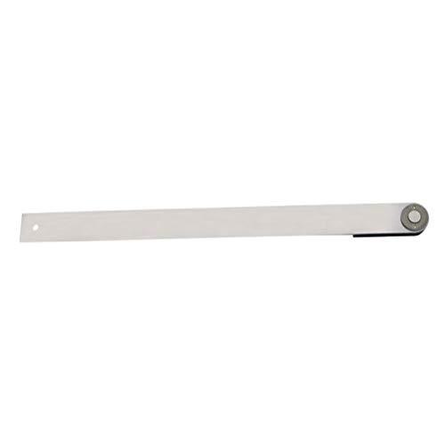 RongWang 300 mm 12 '' de Acero Inoxidable de Calibre ángulo del prolongador Regla electrónica �ngulo �ngulo �ngulo Medidor Digital Regla de medición de Herramientas