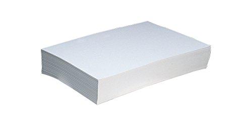 CARTONCINO BIANCO F.TO A4 IN RISME CARTA PER STAMPANTI INKJET BIGLIETTI FLAYERS (10 fogli   300gr) - 2AINTIMO®