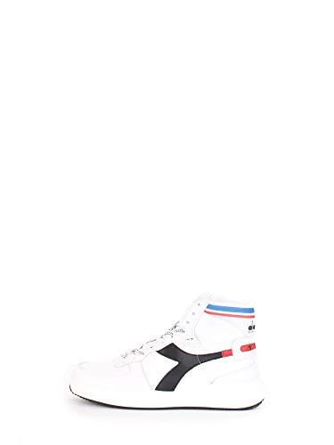 Diadora Heritage Schuh-Sneaker-Unisex-MI-Basketball-H-Leather-MDS-Weiß - 45