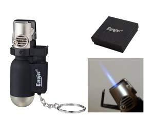 Lifestyle-Ambiente Pocket Torch Feuerzeug Eurojet Jetflamme inkl Tastingbogen