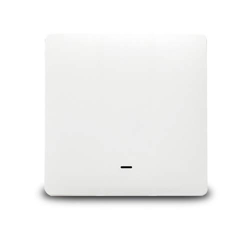 Yagusmart ZigBee Interrupteur Mural connecté, AUCUN fil Neutre Requis, nécessite un Hub Tuya, Compatible avec Alexa, Google Home, IFTTT, Contrôle Vocal et Contrôle à Distance, Smart Light Interrupteur(1 gang)