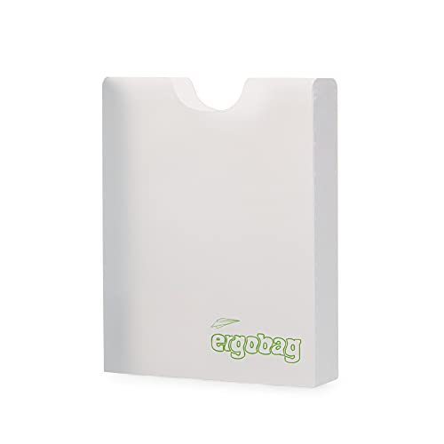 Ergobag, ERG-BOX-002-000, Heftebox für Schulranzen, unisex, transparent