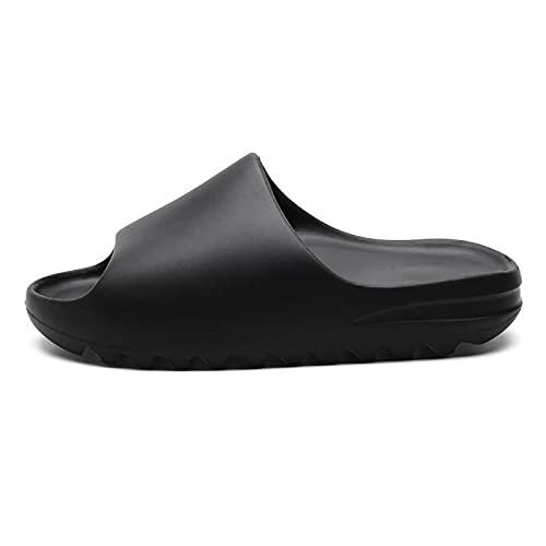 Mlcjva Sandalias de Ducha 2021 Slippers de Nuevo Hombre Inicio de Verano Playa de Verano Resbalón al Aire Libre Señora Sra. Zapatillas Zapatos Laterales Gruesos Zapatos Laterales Planos