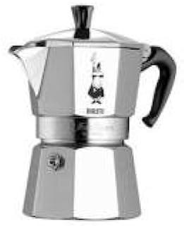 Bialetti Moka Express, 6 cup, Aluminio - Cafetera italiana: Amazon ...