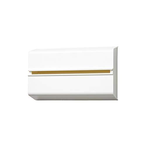 ideaco (イデアコ) どんな壁にも貼れる キッチンペーパー/ペーパータオルホルダー ホワイト ペーパー対応サイズ:幅23x高さ12x奥行4.5cm WALL PT(ウォール ピーティ)