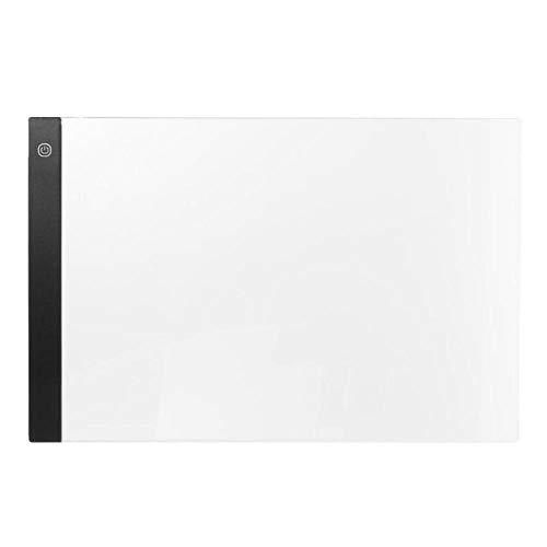 Tabletas digitales A3 LED, artista gráfico, plantilla de arte fino, tablero de dibujo, caja de luz, almohadilla de mesa de seguimiento, almohadilla de tablero de pintura de escritura LED