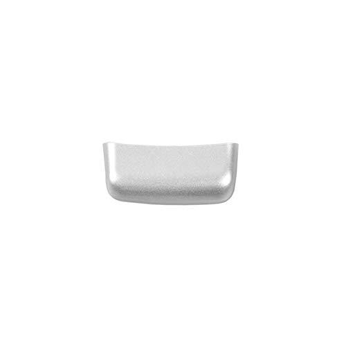 jap768 Interruptor ABS Interior del Coche apoyabrazos Cubierta decoración Pegatinas Accesorios en Forma for el Jeep Renegade 2015 hasta Car Styling (Color : Plata)