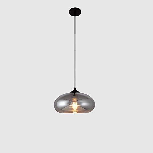 Metal Hierro única tienda de ropa en la ventana principal de la lámpara de la lámpara de América nórdica posmoderna simple lámpara de cristal E27 100cm cadena de restaurantes ajustable arte de la lámp