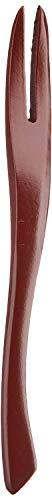 パール金属木製フォーク和菓子用カトラリーウッドメイドB-1635