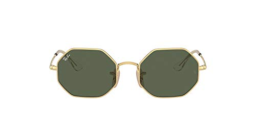 Gafas de Sol Ray-Ban HEXAGONAL JUNIOR RJ 9549S Gold/Green 48/18/130 juvenil
