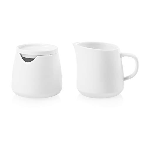 Corelle Coordinates - Juego de azucarero y cremas, color blanco