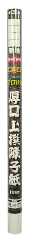 時々時々侵入する傾くアサヒペン 厚口上撰 障子紙 強さ3倍  のり貼り 69cmX7.2m 無地 5901
