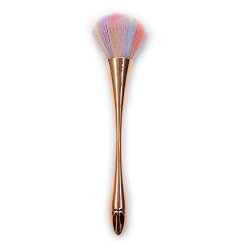 Grand Luxe Plat Contour Crème Poudre Fond De Teint Poudre Blush Visage Forme Simple Synthétique Cheveux Maquillage Pinceaux Cosmétiques Outil - AE404