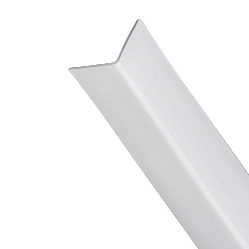 WOLFPACK LINEA PROFESIONAL 2540255 Perfil PVC Angulo 25x25 mm. Blanco Barra 2,5 Metros