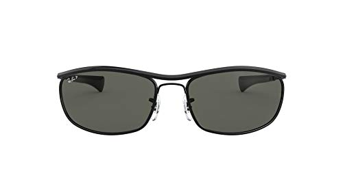 Ray-Ban Unisex Olympian L Deluxe Sonnenbrille, Black, 62