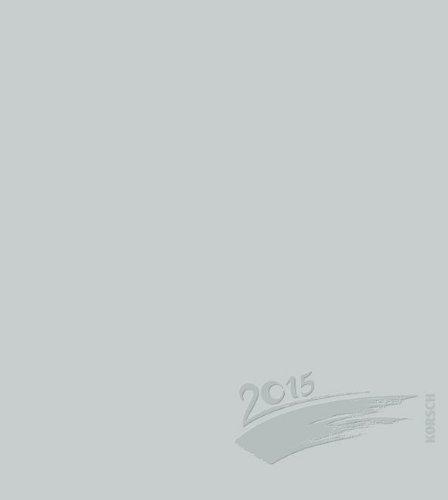 Foto-Malen-Basteln silber mit Folienprägung 2015: Kalender zum Selbstgestalten