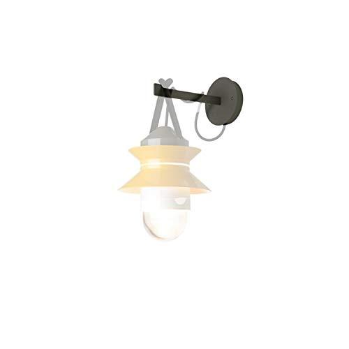 Soporte de Pared para lámpara Modelo Santorini IP65, Color Negro, 20 x 20 x 12 centímetros (Referencia: A654-006)
